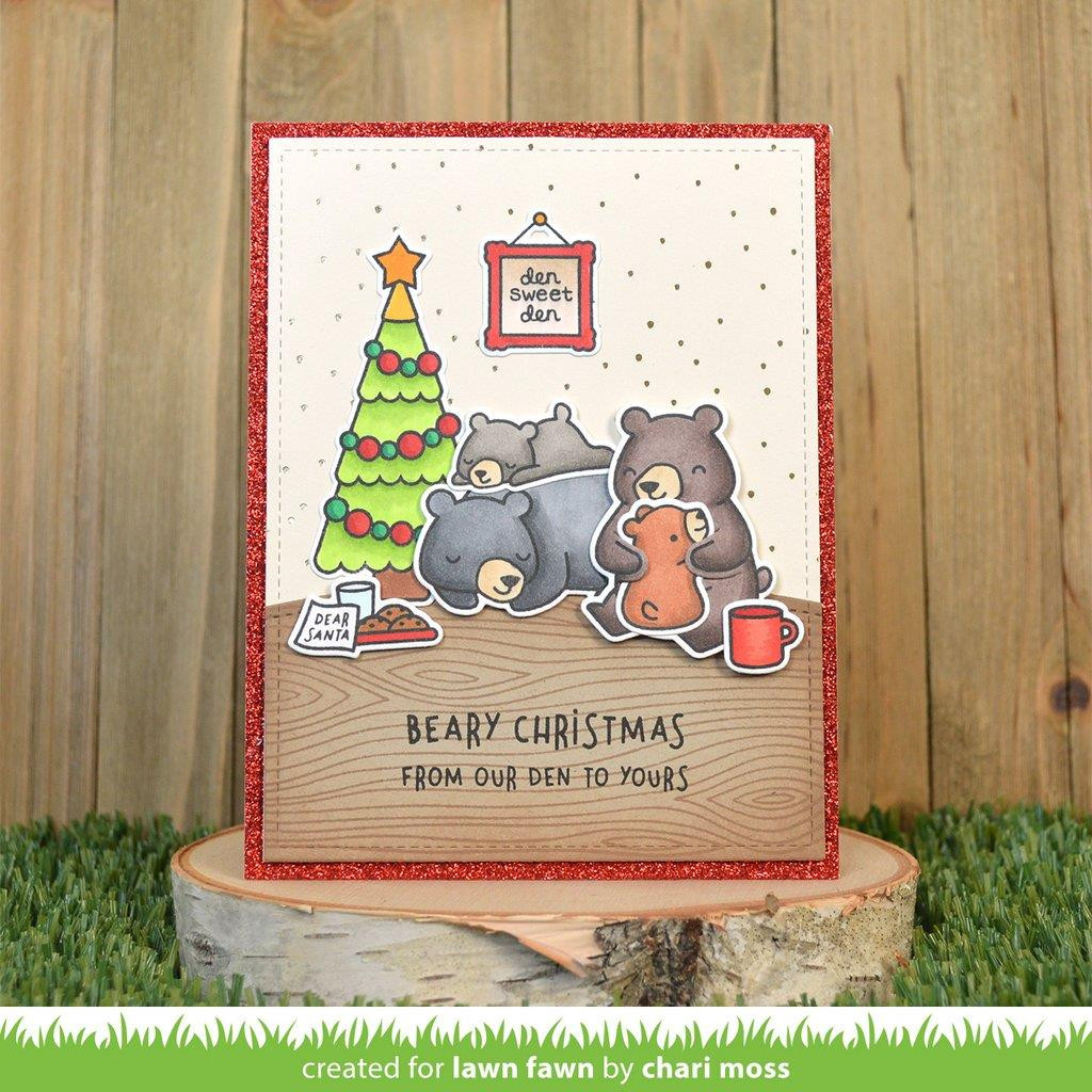 Den Sweet Den, Lawn Fawn Clear Stamps - 035292676251