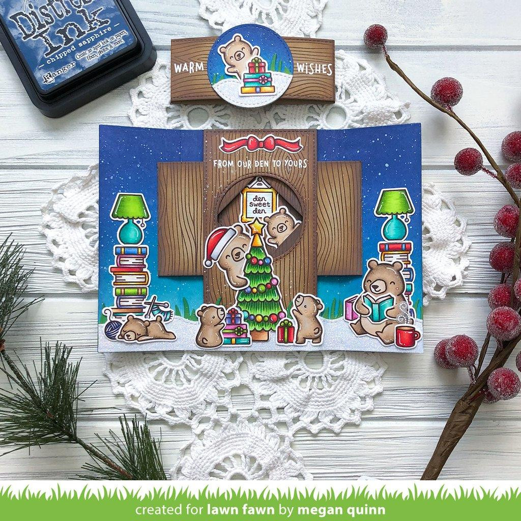 Snow Much Fun, Lawn Fawn Clear Stamps - 035292676275