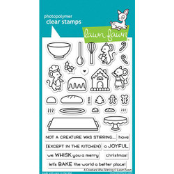 A Creature was Stirring, Lawn Fawn Clear Stamps - 035292676312