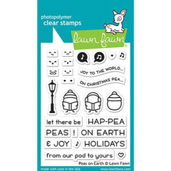 Peas on Earth, Lawn Fawn Clear Stamps - 035292676374