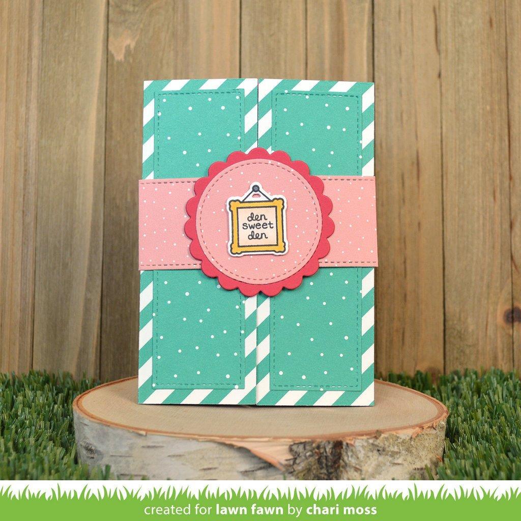Shutter Card, Lawn Cuts Dies - 035292675698