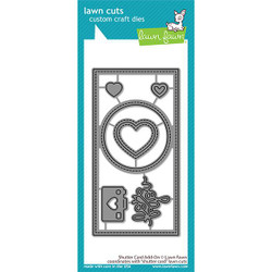 Shutter Card Add-On, Lawn Cuts Dies - 035292675704