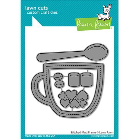 Stitched Mug Frame, Lawn Cuts Dies - 035292676497