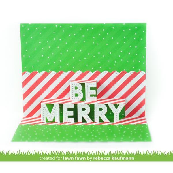 Pop-Up Be Merry, Lawn Cuts Dies - 035292676626