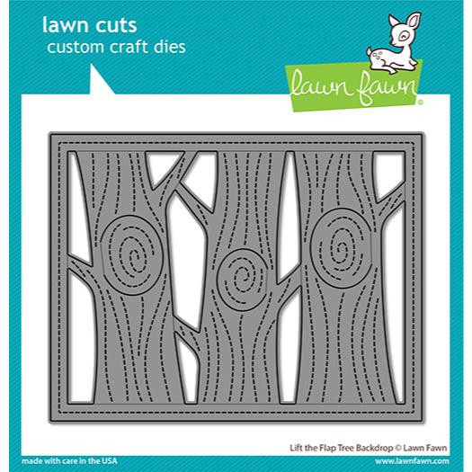 Lift the Flap Tree Backdrop, Lawn Cuts Dies - 035292676671