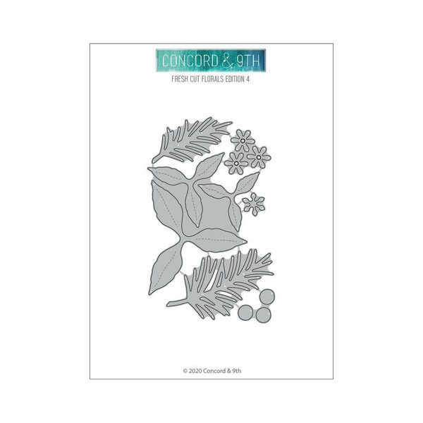 Fresh Cut Florals Edition 4, Concord & 9th Dies - 717932697917