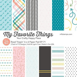 Road Trippin', My Favorite Things Paper Pack - 849923036099