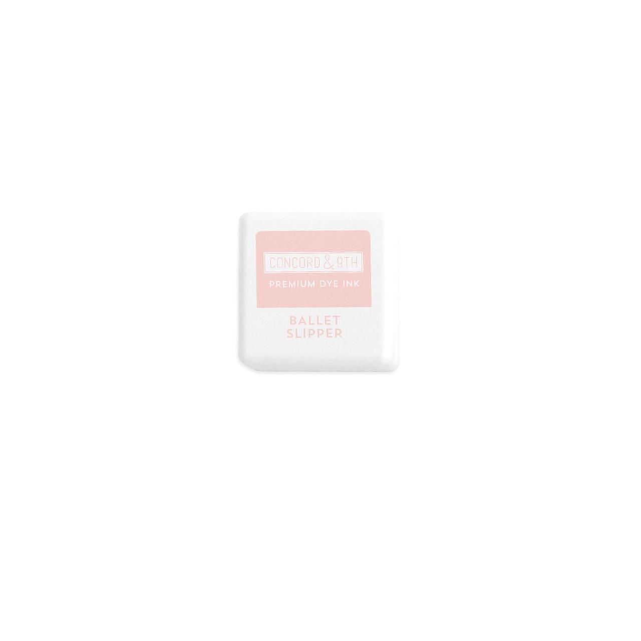 Ballet Slipper, Concord & 9th Premium Dye Ink Cubes - 090222402119