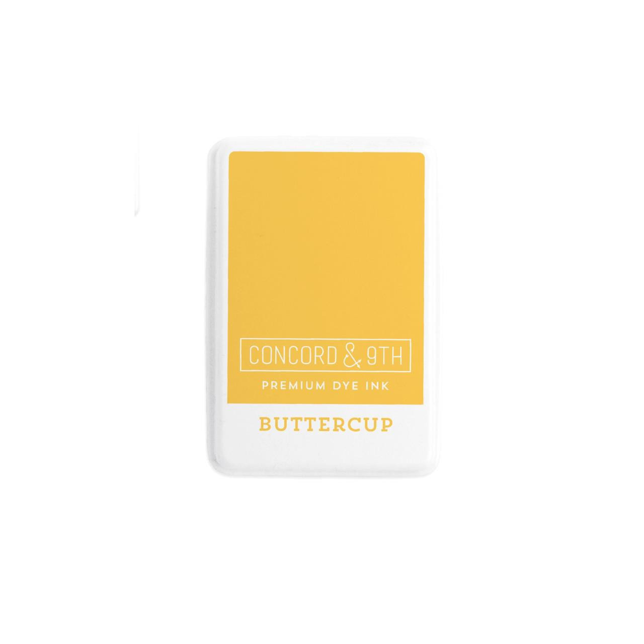 Buttercup, Concord & 9th Premium Dye Ink Pads - 090222401976