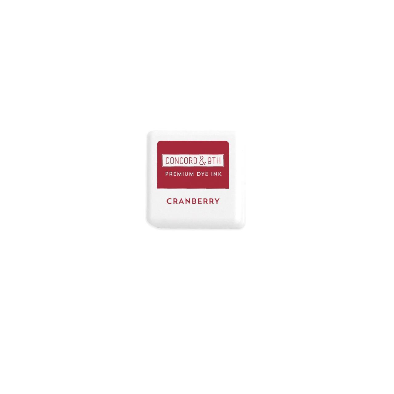 Cranberry, Concord & 9th Premium Dye Ink Cubes - 090222402133
