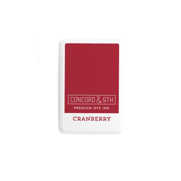 Cranberry, Concord & 9th Premium Dye Ink Pads - 090222401914