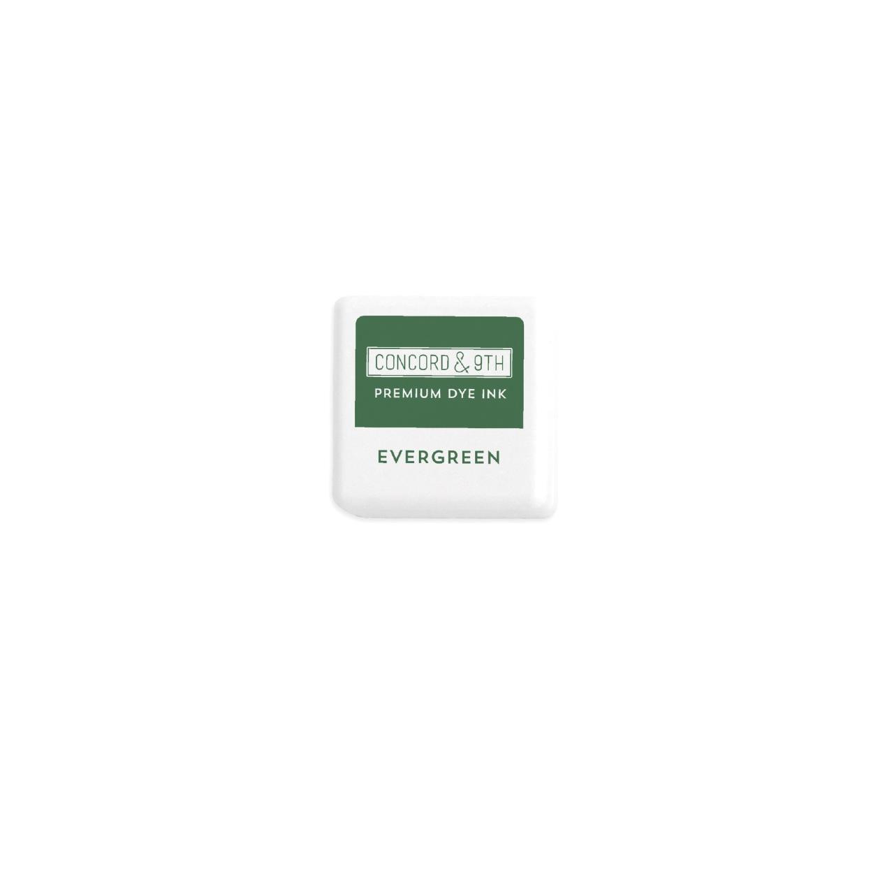 Evergreen, Concord & 9th Premium Dye Ink Cubes - 090222402225