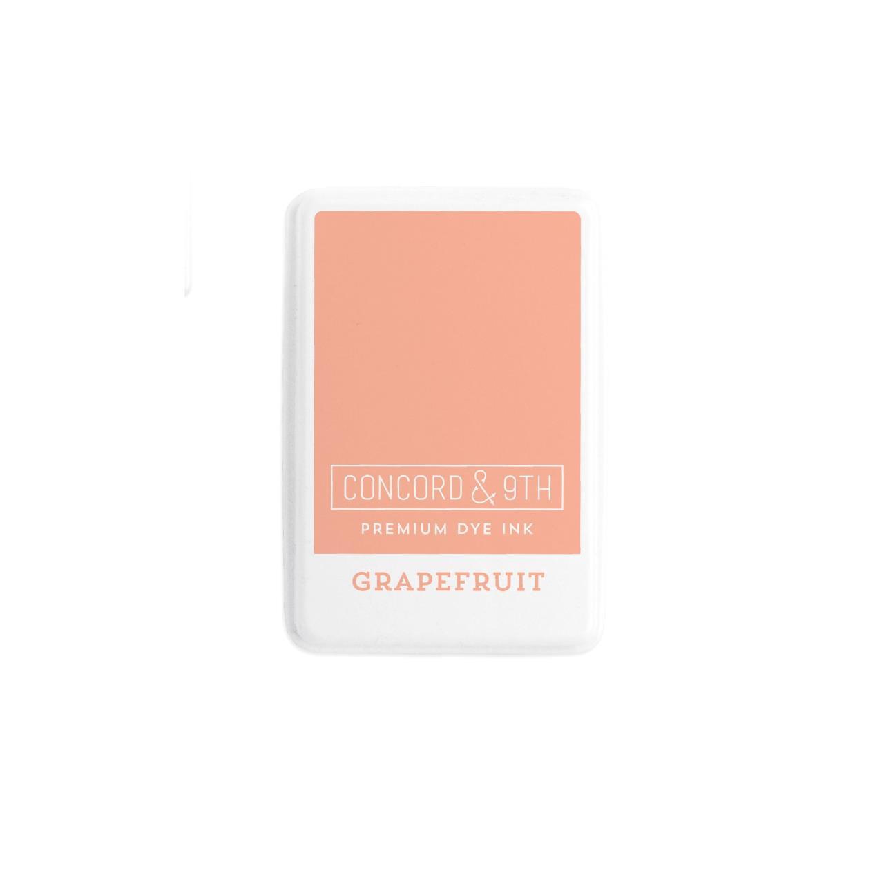 Grapefruit, Concord & 9th Premium Dye Ink Pads - 090222401945
