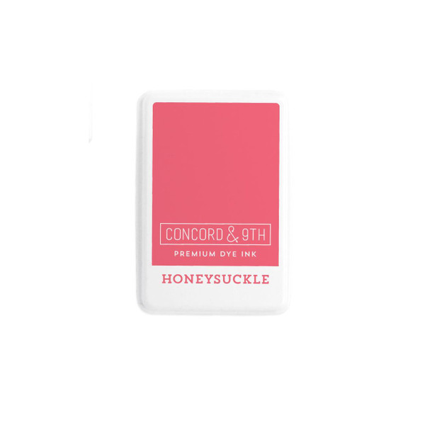 Honeysuckle, Concord & 9th Premium Dye Ink Pads - 090222401907