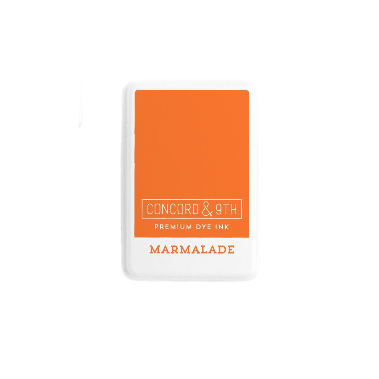 Marmalade, Concord & 9th Premium Dye Ink Pads - 090222401952