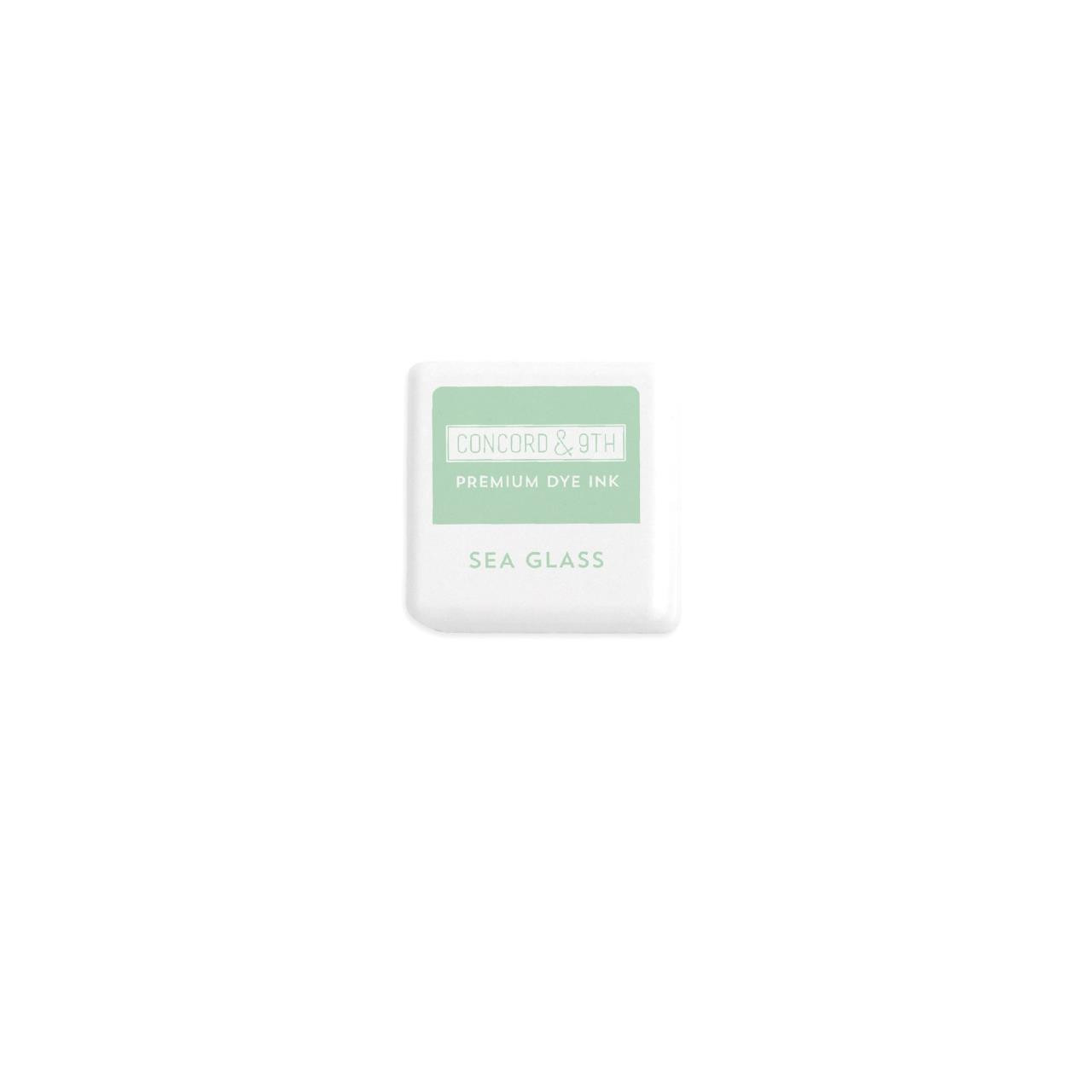 Sea Glass, Concord & 9th Premium Dye Ink Cubes - 090222402249