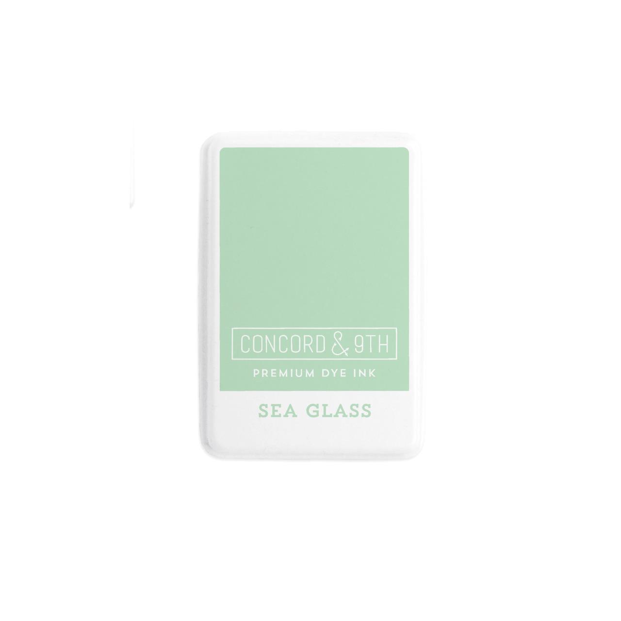 Sea Glass, Concord & 9th Premium Dye Ink Pads - 090222402027