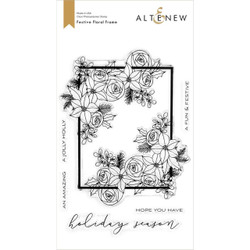 Festive Floral Frame, Altenew Clear Stamps - 737787268803