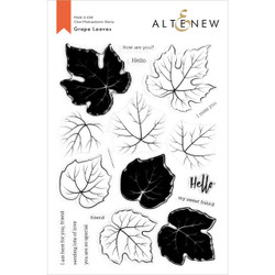 Grape Leaves, Altenew Clear Stamps - 737787268810