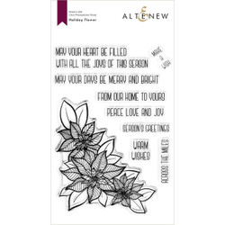 Holiday Flower, Altenew Clear Stamps - 737787268865