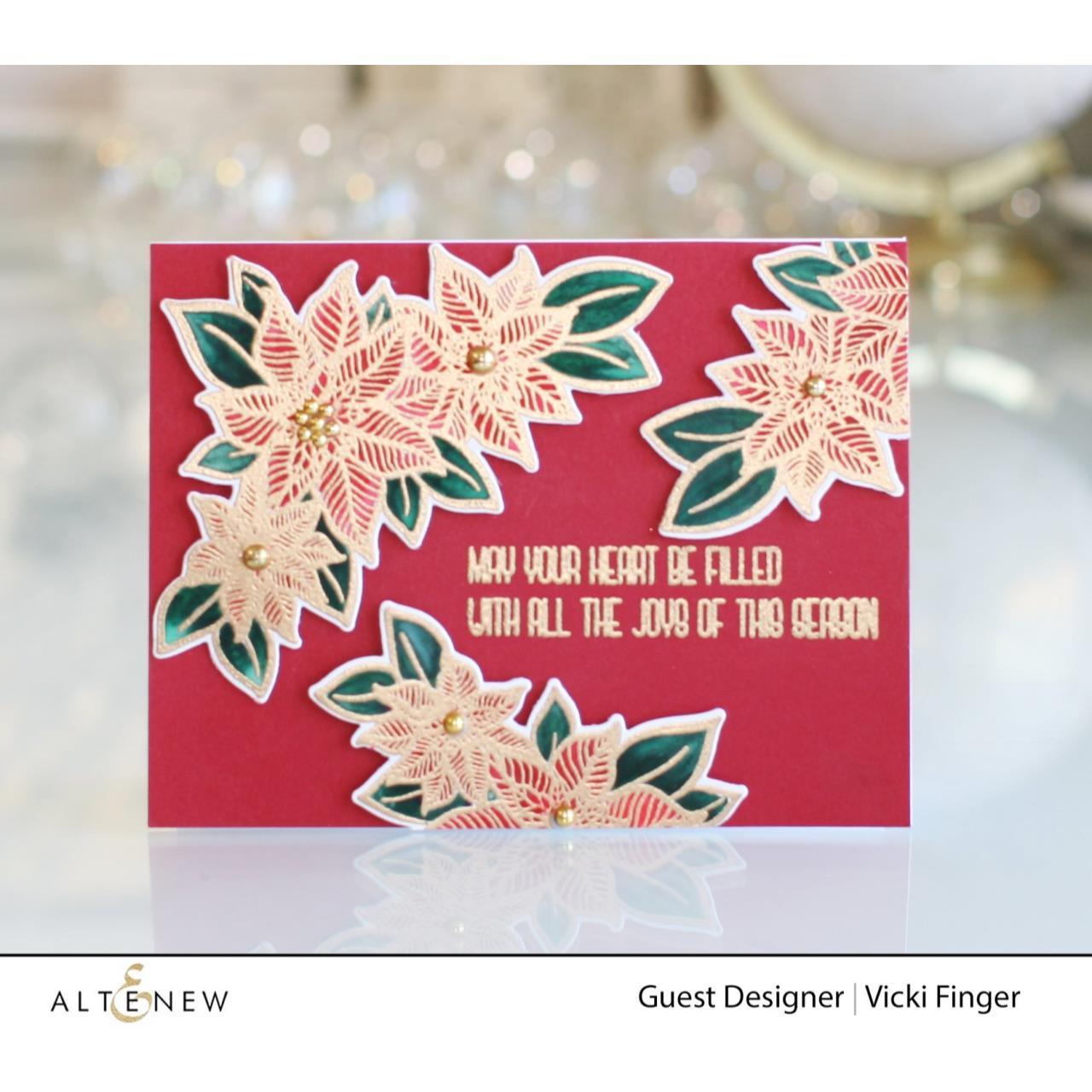 Holiday Flower, Altenew Dies - 737787268872