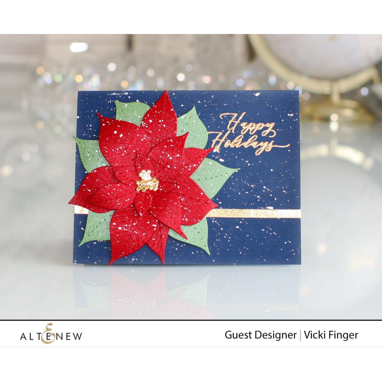 Holiday Tag Sentiments, Altenew Clear Stamps - 737787268896