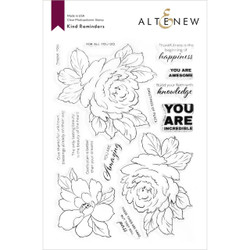 Kind Reminders, Altenew Clear Stamps - 737787268926