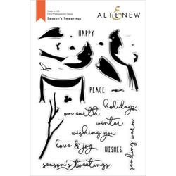 Season's Tweetings, Altenew Clear Stamps - 737787269039