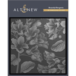 Beautiful Bergenia 3D, Altenew Embossing Folder - 737787268605