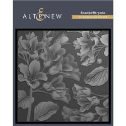 Beautiful Bergenia 3D, Altenew Embossing Folder - 737787268605