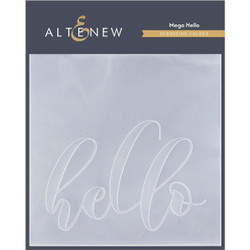 Mega Hello, Altenew Debossing Folder - 737787268612