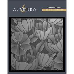 Flowers & Leaves 3D, Altenew Embossing Folder - 737787268629