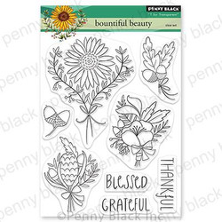 Bountiful Beauty, Penny Black Clear Stamps - 759668307197