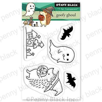 Goofy Ghoul, Penny Black Clear Stamps - 759668307258