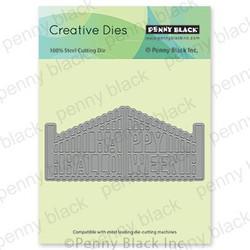 Halloween Gate, Penny Black Dies - 759668516568