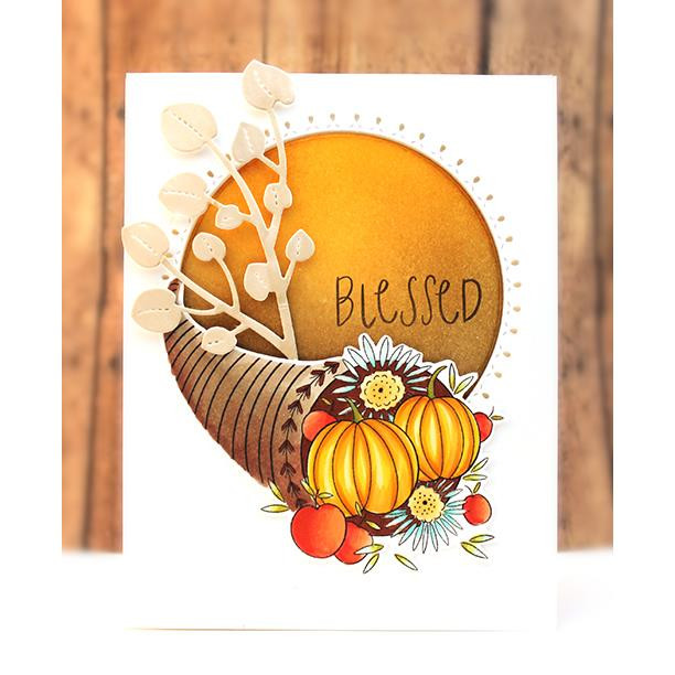 Harvest Wishes, Penny Black Clear Stamps - 759668307289