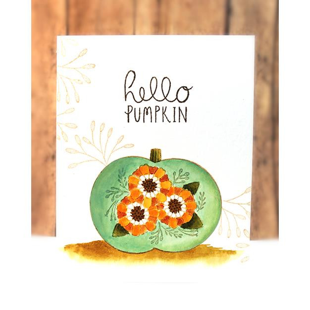 Hello Pumpkin, Penny Black Clear Stamps - 759668307272