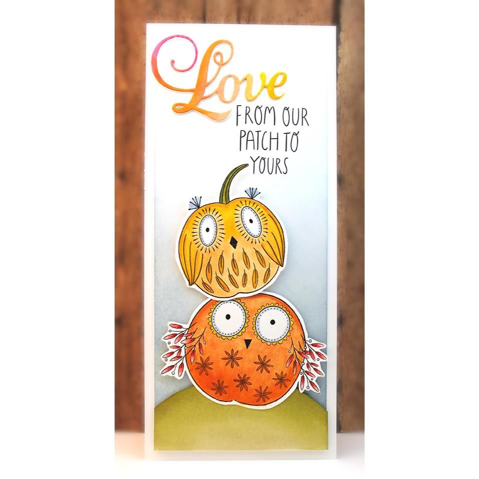 Owlsome, Penny Black Clear Stamps - 759668307180