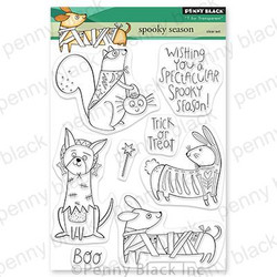 Spooky Season, Penny Black Clear Stamps - 759668307241