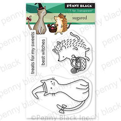 Sugared, Penny Black Clear Stamps - 759668307234