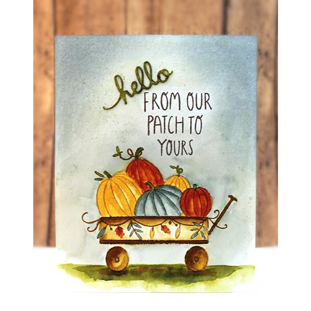 Wagonful, Penny Black Clear Stamps - 759668307814