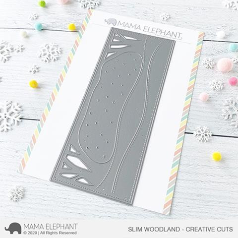 Slim Woodland, Mama Elephant Creative Cuts -