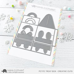 Petite Treat Box, Mama Elephant Creative Cuts -