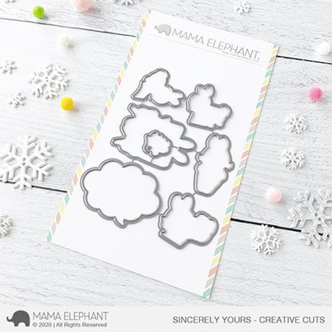 Sincerely Yours, Mama Elephant Creative Cuts -