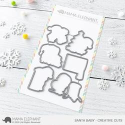 Santa Baby, Mama Elephant Creative Cuts -