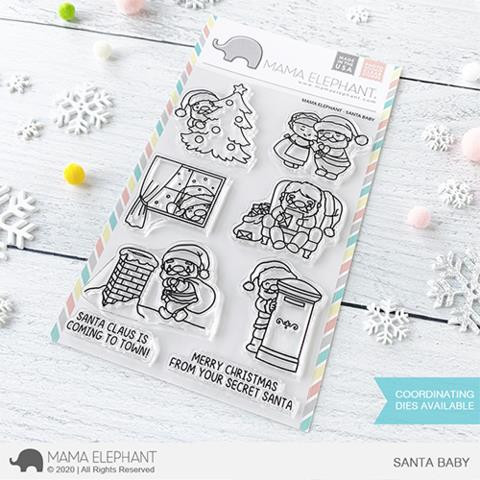 Santa Baby, Mama Elephant Clear Stamps -