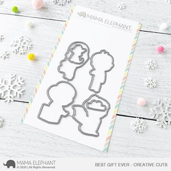 Best Gift Ever, Mama Elephant Creative Cuts -
