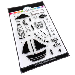 Set Sail, Catherine Pooler Clear Stamps - 746604164730
