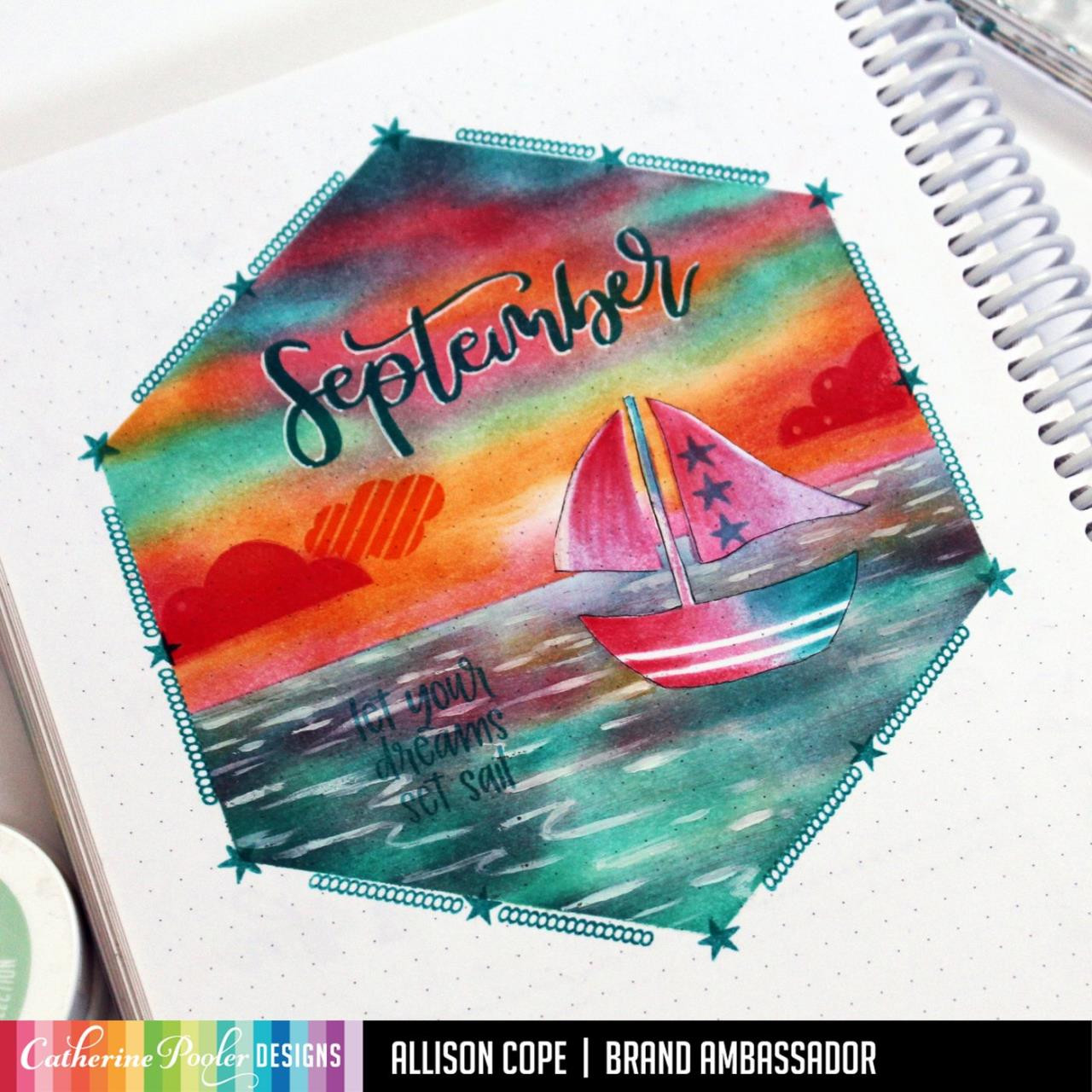 September, Catherine Pooler Clear Stamps - 746604164730