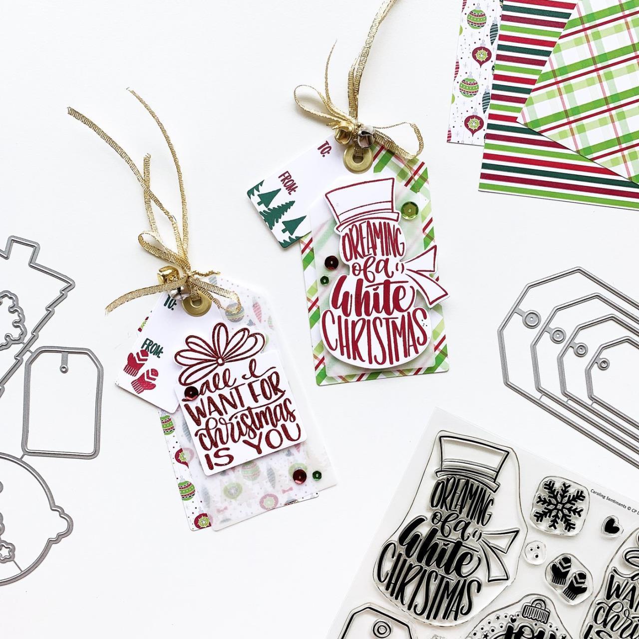 Caroling Sentiments, Catherine Pooler Clear Stamps - 819447028443